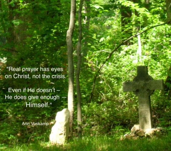 "Real prayer has eyes on Christ…"" Ann Voskamp #quotes | Seeds ..."