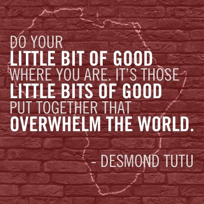 02. Do your little bit of good - Tutu
