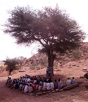 School in Nuba Mountains