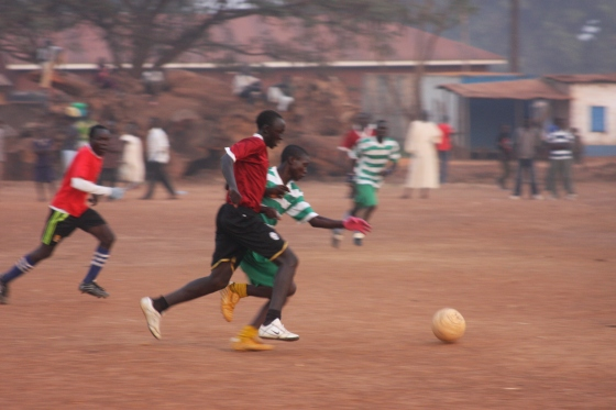 Malik is very competitive when it comes to soccer. In addition to playing, he's an avid supporter of Chelsea FC.