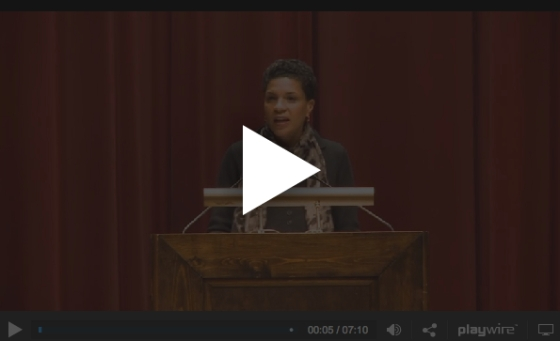 Michelle Alexander Speaks