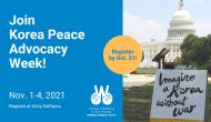 Online Korean Peace AdvocacyWeek